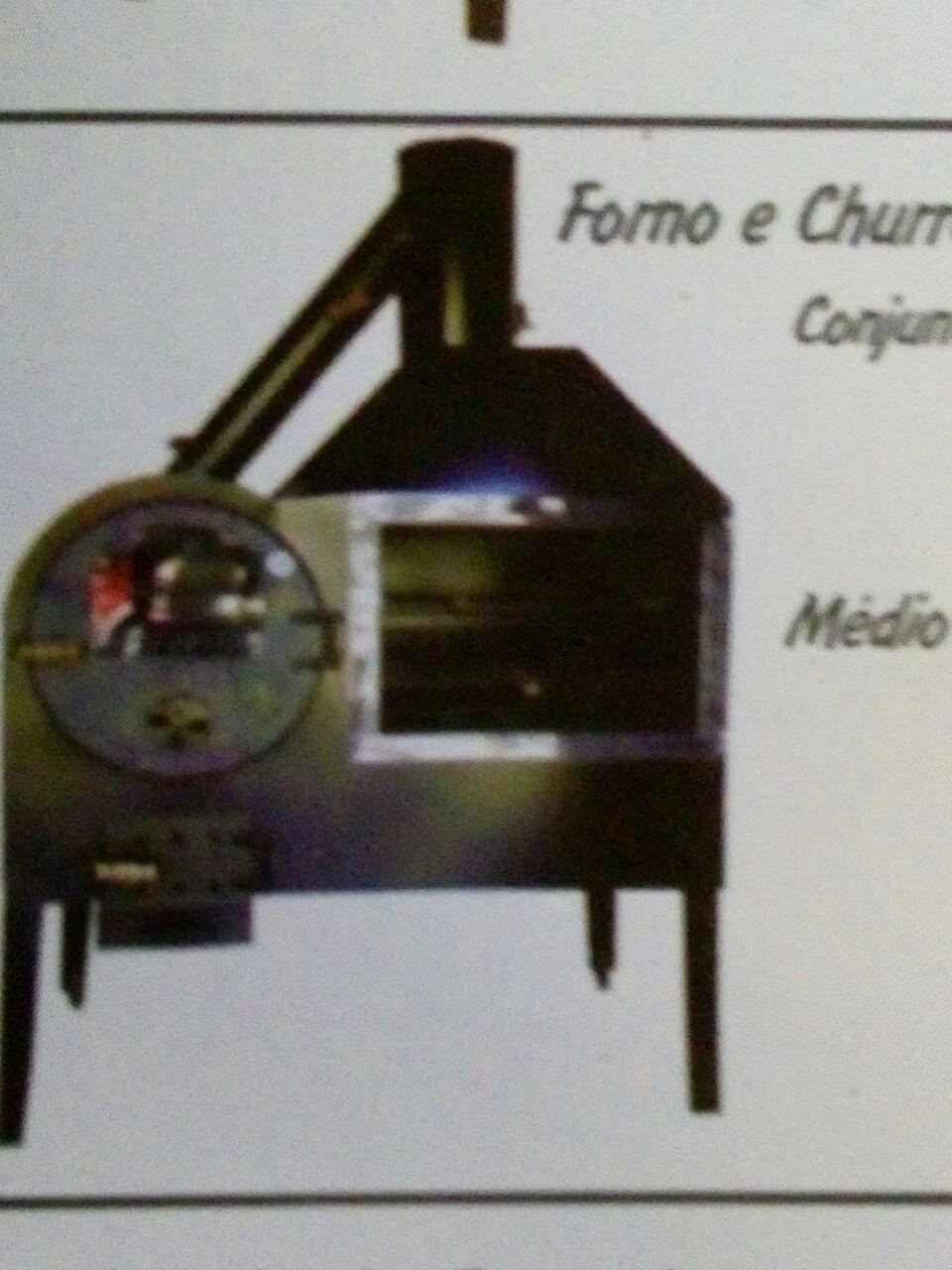 Forno churrasqueira